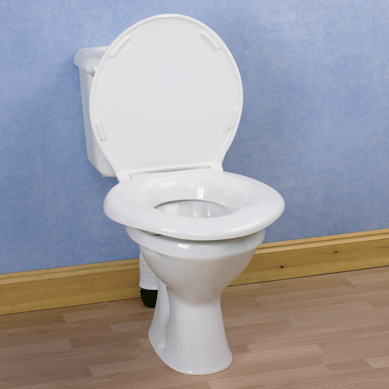 Asiento de wc 39 extra grande 39 orthopedics almirall for Grande commode